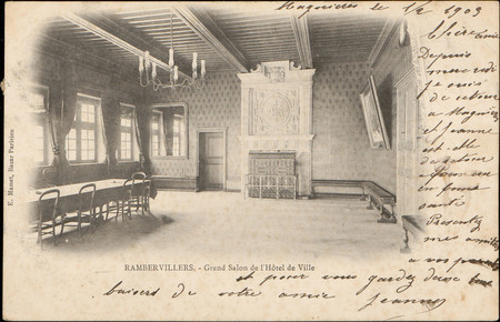 Rambervillers, Grand Salon de l'Hôtel de Ville