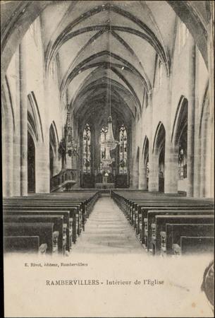 Rambervillers, Intérieur de l'Église