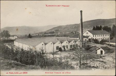 Ramonchamp (Vosges), Nouveau Tissage de l'Etat