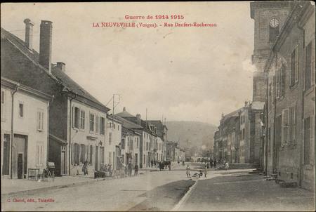 La Neuveville (Vosges), Rue Denfert-Rochereau