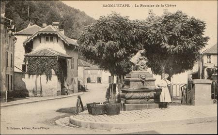 Raon-L'Etape, La Fontaine de la Chèvre