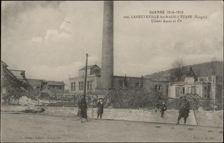 Laneuveville-les-Raon-L'Etape (Vosges), Usine Amos et Cie