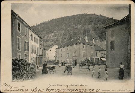 Raon-L'Etape, La Côte du Château