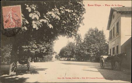 Raon-L'Etape, Place de la Gare