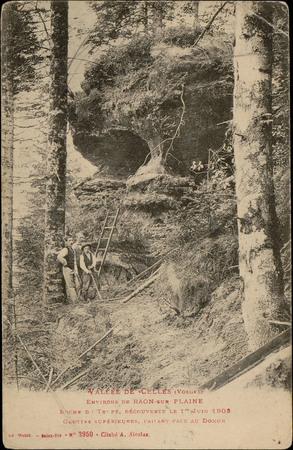Vallée de Celles (Vosges), Environs de Raon-sur-Plaine, Roche du Trupt, dé…