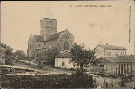 Darney, ses environs, Relanges