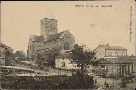 Darney, ses environs, Relanges