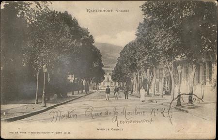 Remiremont (Vosges), Avenue Carnot