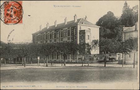 Remiremont (Vosges), Hôpital civil et Militaire