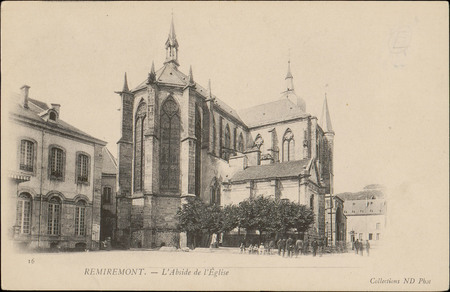 Remiremont, L'Abside de l'Église