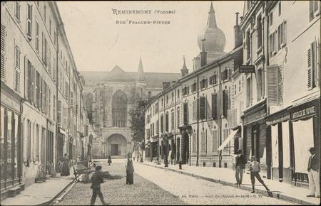 Remiremont (Vosges), Rue Franche-Pierre