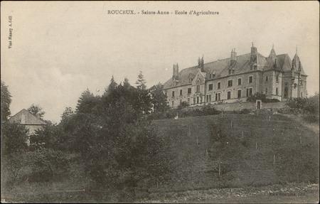 Rouceux, Sainte-Anne, École d'Agriculture