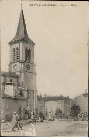 Rouvres-en-Xaintois, L'Église et Hôpital