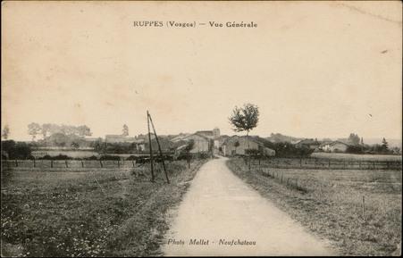 Ruppes (Vosges), Vue générale