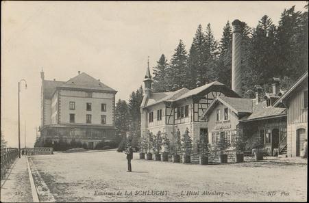 Environs de La Schlucht, L'Hôtel Altenberg