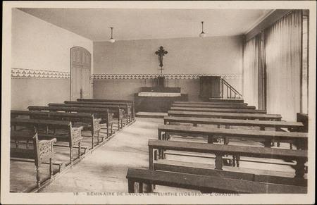 Séminaire de Saulcy-s/-Meurthe (Vosges), L'Oratoire