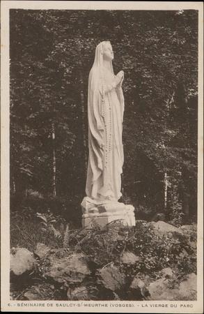 Séminaire de Saulcy-s/-Meurthe (Vosges), La Vierge du Parc