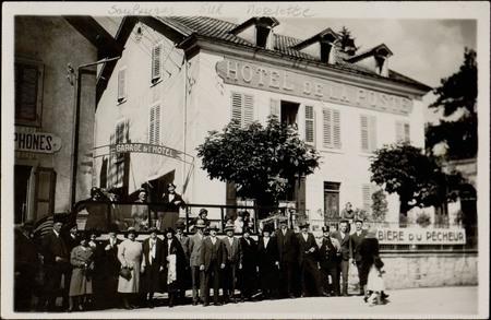[Saulxures-sur-Moselotte (Vosges), Hôtel de la poste]