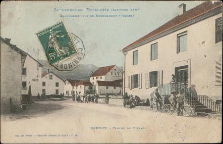 Saulxures-sur-Moselotte (Altitude 416 m.) Arrondissement de Remiremont (Vo…