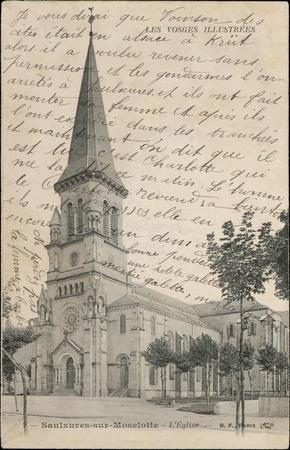 Saulxures-sur-Moselotte, L'Église