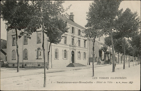 Saulxures-sur-Moselotte, Hôtel de Ville