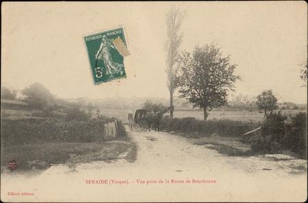 Senaide (Vosges), Vue prise de la Route de Bourbonne