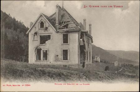 Ruines du Châlet de la Combe