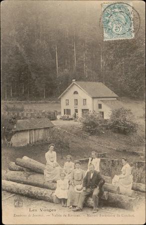 Environs de Senones, Vallée de Ravines, Maison Forestière de Coichot