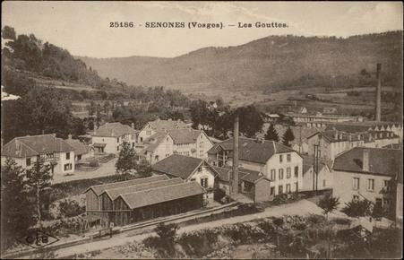 Senones (Vosges), Les Gouttes