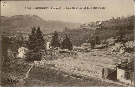 Senones (Vosges), Les Gouttes et le Petit Paris