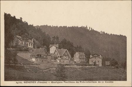 Senones (Vosges), Quelques Pavillons du Préventorium de la Combe