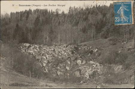 Senones (Vosges), Les Roches Margot