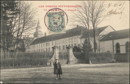 Senones, L'Abbaye