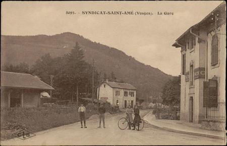 Syndicat-Saint-Amé (Vosges), La Gare