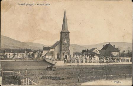 St-Amé (Vosges), Altitude 400 m, L'Église