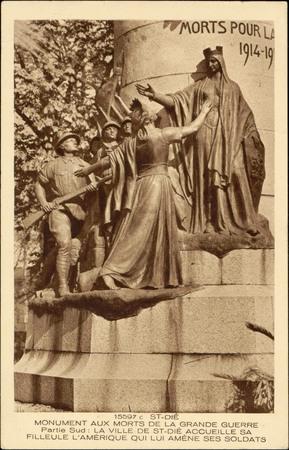 St-Dié, Monument aux morts de la Grande Guerre, Partie Sud : La Ville de S…