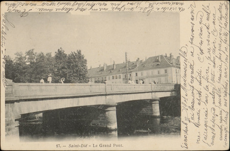Saint-Dié, Le Grand Pont