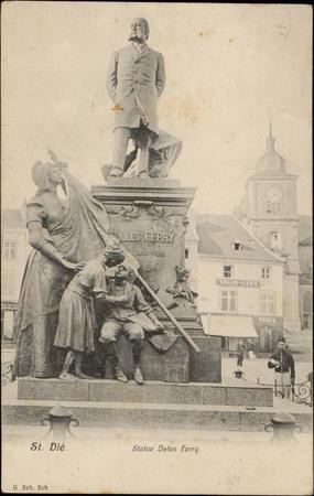St-Dié, Statue Jules Ferry