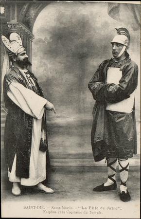 """Saint-Dié, Saint-Martin """"La Fille de Jaïre"""", Kaïphas et le Capitaine du Te…"""