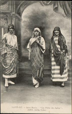 """Saint-Dié, Saint-Martin """"La Fille de Jaïre"""", Judith, Joëlla, Esther"""
