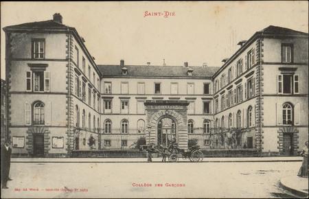 Saint-Dié, Collège des Garçons