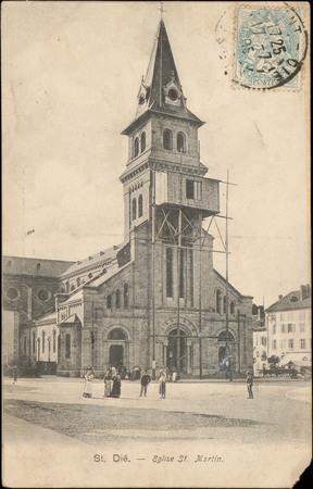 St. Dié., Église St. Martin
