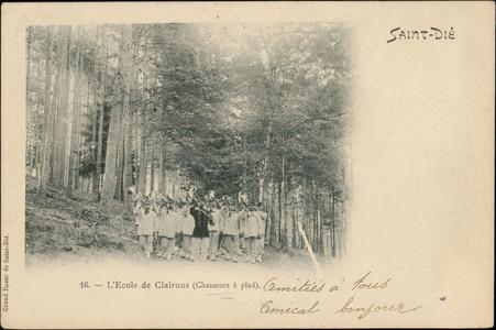 L'École de Clairons (Chasseur à pied)