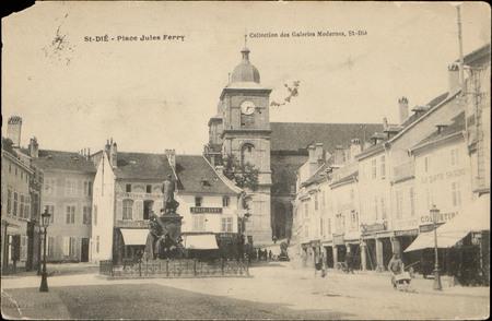 St-Dié, Place Jules Ferry