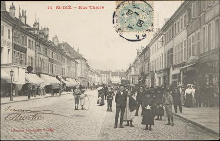 St-Dié, Rue Thiers