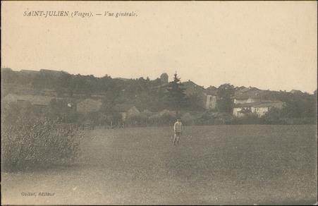Saint-Julien (Vosges), Vue générale