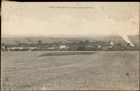 Saint-Maurice (Vosges), Vue générale
