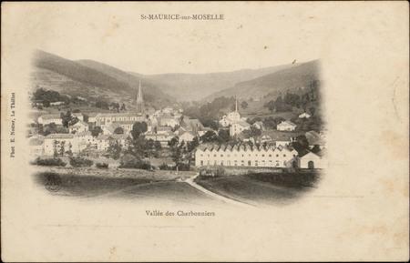 St-Maurice-sur-Moselle, Vallée des Charbonniers