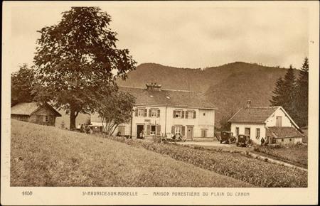 St-Maurice-sur-Moselle, Maison forestière du Plain du Canon