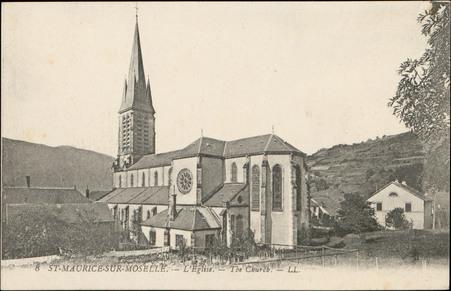 St-Maurice-sur-Moselle, L'Église, The Church